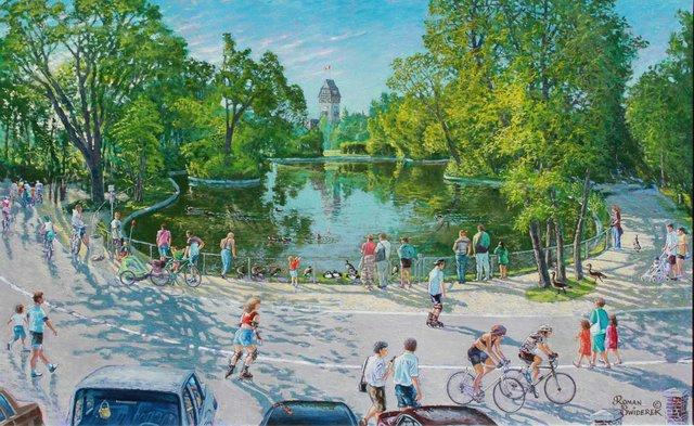 "Roman Swiderek, ""Summer in the Park,"" 2004"