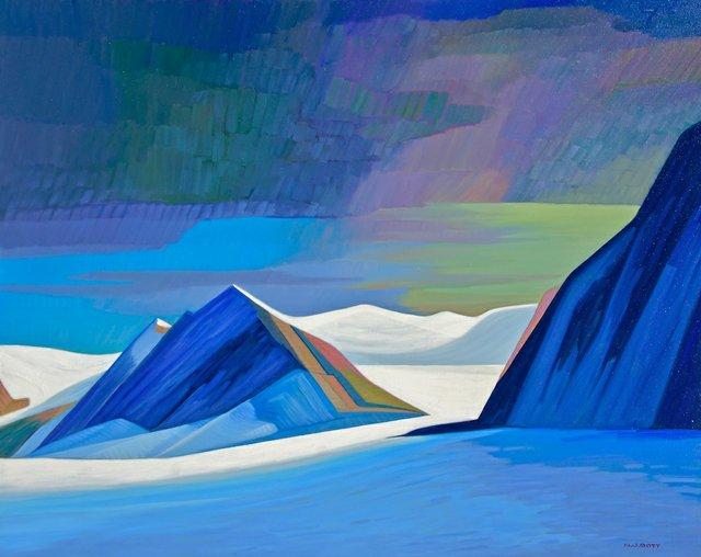 "Nicholas Bott, ""Looming Arctic Storm,"" nd"