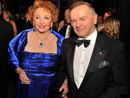 Jacqueline Desramais with the Honourable Serge Joyal at the 2012 Museum Ball. (photo by Denis Bernier)
