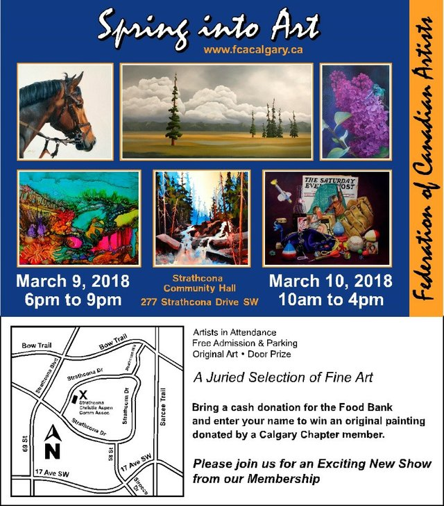 Art Show - Federation of Canadian Artists