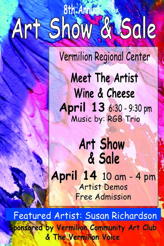 "Vermilion Regional Center, ""8th Annual Art Show and Sale,"" 2018"