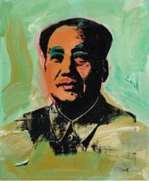 "Andy Warhol, ""Mao,"" 1973"