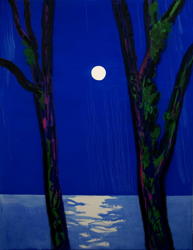 "Erik Olson, ""Moonrise,"" 2018"