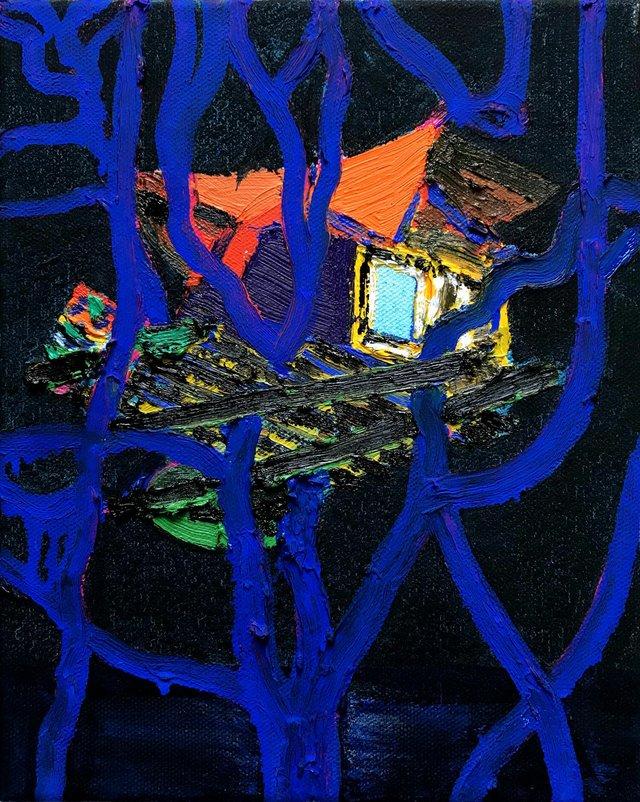 "Erik Olson, ""Vivaldi's House,"" 2018"