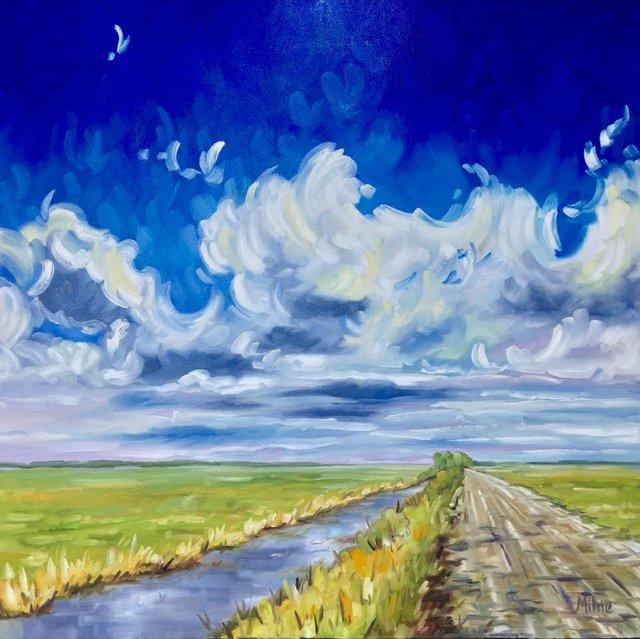 "Jana Milne, ""After the Rain,"" nd"