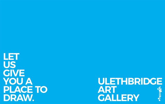 "ULethbridge, ""Place to Draw,"" 2018"