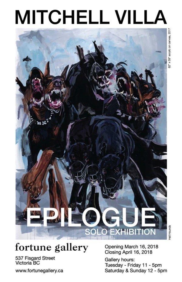 "MItchell Villa, ""Epilogue,"" 2018"