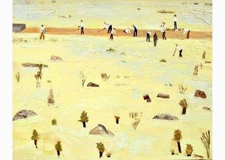 "Patrick Dunford, ""The Impossible Railroad Near Ocotillo,"" 2016"