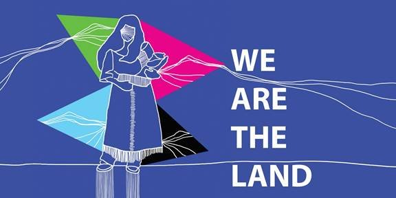 """Lianne Charlie, """"This Is Our Land,"""" 2015"""