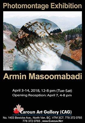 "Armin Masoomabadi, ""Photomontage Exhibition,"" 2018"
