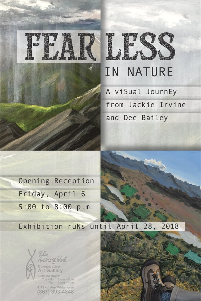 """Deanna (Dee) Bailey, Jackie Dowell-Irvine, """"Fearless in Nature,""""2018"""
