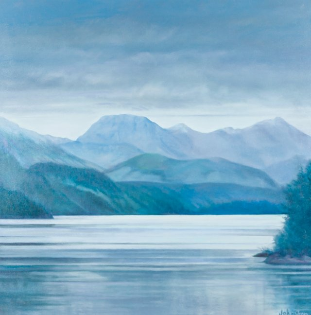 "Patricia Johnston, ""Inside Passage,"" 2018"