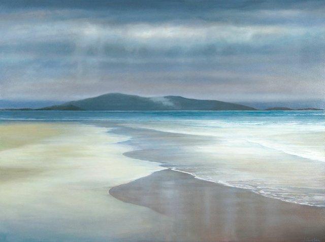 "Patricia Johnston, ""Western Isle Beach,"" 2018"