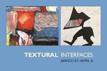 "Jim Gladden & Randolph Rigets, ""Textural Interfaces,"" 2018"