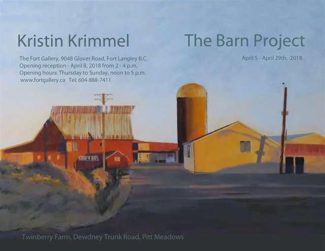 "Kristin Kimmel, ""Twinberry Farm, Dewdney Trunk Road, Pitt Meadows,"" nd"