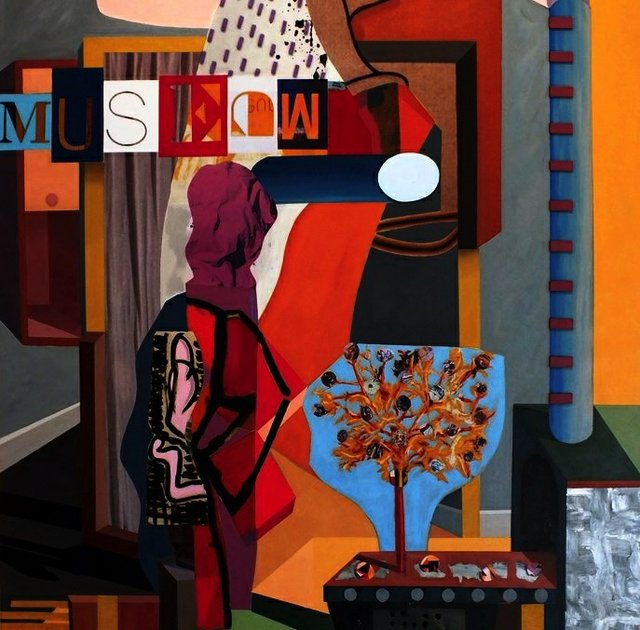 "David Foxcroft, ""Muse,"" 2018"