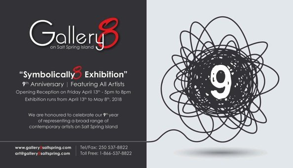 "Gallery *, ""Symbolically 8 Exhibition,"" 2018"