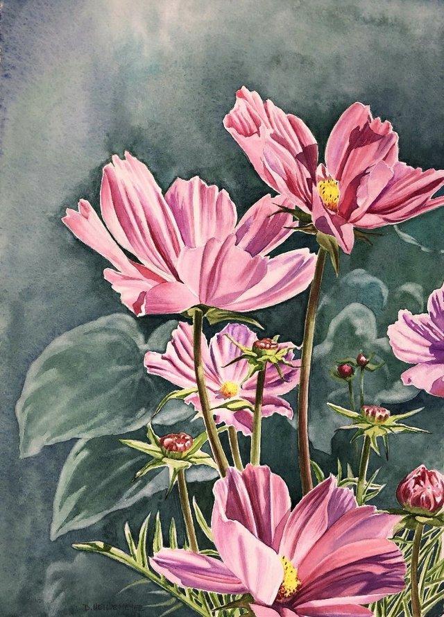 """Dawn Heinemeyer, """"Cosmos,"""" nd"""