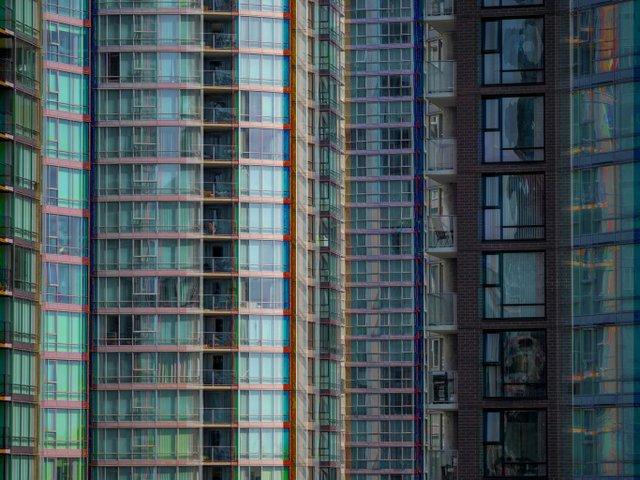 """Kent Lins, """"Blue Density,"""" 2017"""