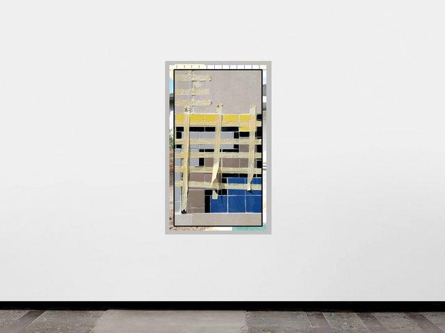 "Owen Kydd, ""Three Houses,"" 2018"