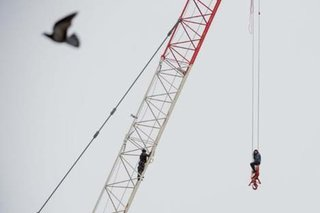 "Tyler Anderson, National Post, ""Crane Rescue"""