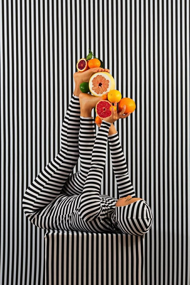 "Adad Hannah, ""An Arrangement (Striped Case Study) 6,"" 2018"