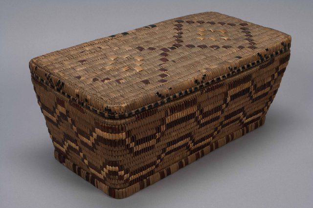 Matilda Jim (Lil'wat), basket, circa 1900-1950 (MOAA6705; photo by Derek Tan)