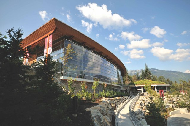 Squamish-Lil'wat Cultural Centre in Whistler, B.C.