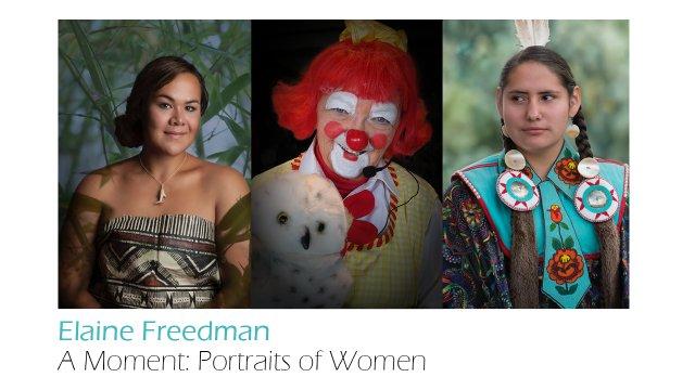 """Elaine Freedman, """" A Moment: Portraits of Women,"""" 2018"""