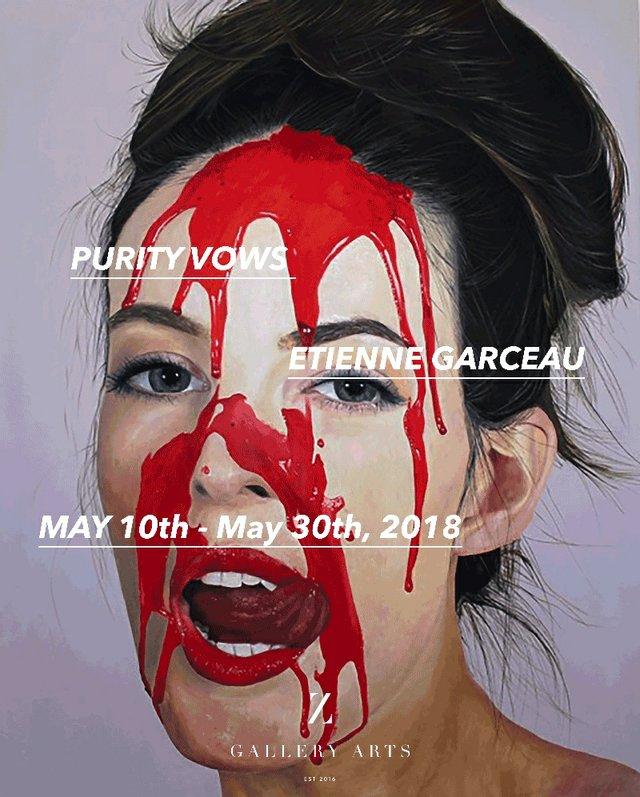 "Etienne Garceau, ""Purity Vows,"" 2018"