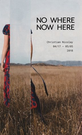 "Christian Nicolay, ""No Where Now Here No. 26,"" 2018"