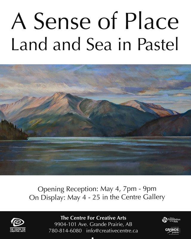 "Frances Obie, ""Northern Rockies, Muncho Lake,"" 2018"