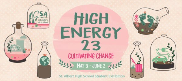 "St. Albert High School Art Students, ""High Energy 23,"" 2018"