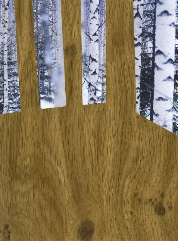 "Vikky Alexander, ""Birch Room,"" 2017"