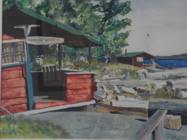 "Ian Carter, ""Tombstone Territory, Yellow Point Lodge, Nanaimo, BC,"" 2016"