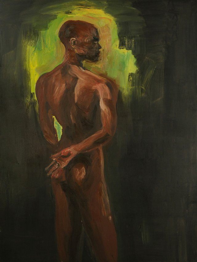 "Rainer Fetting, ""Back Nude—Donald,"" 1986"