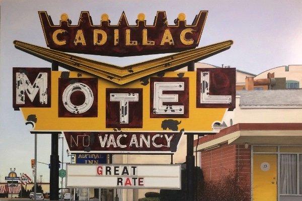 "Allan Thomas, ""Cadillac Motel,"" 2018"