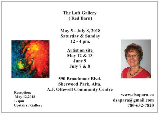"The Loft Gallery, ""Featuring Dianna Sapara,"" 2018"