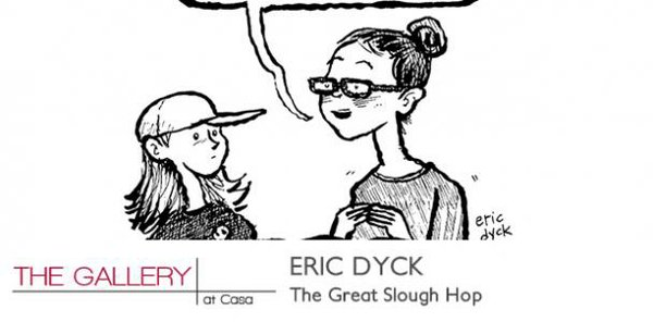 "Eric Dyck, ""The Great Slough Hop,"" 2018"