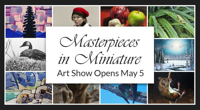 "Picture This Gallery, ""Masterpieces in Miniature Art Show,"" 2018"