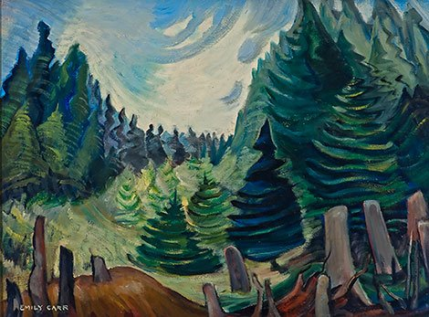 "Emily Carr (Canadian, 1871-1945), ""Metchosin,"" c. 1935"