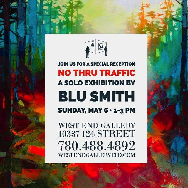 """Blu Smith, """"No Thru Traffic,"""" 2018"""