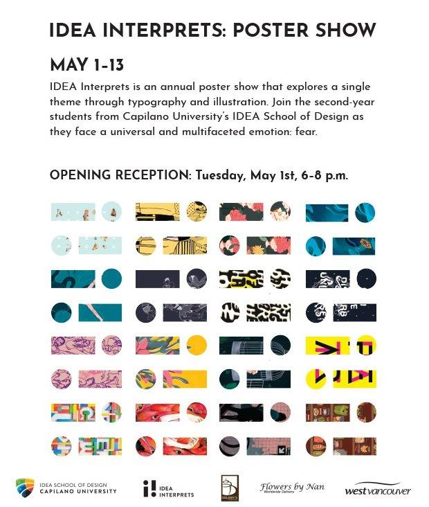 """Idea Interprets, """"Poster Show,"""" 2018"""