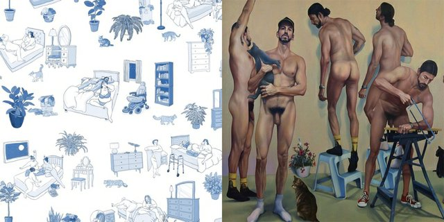 Cindy Baker: Crash Pad & Zachari Logan Naked Animals: Selected Bodies 2008-2018