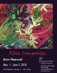"Ann Haessel, ""Fibre Composites,"" 2018"