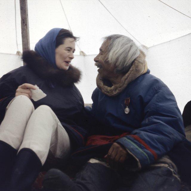 "Rosemary Gilliat Eaton, ""Alma Houston and Kingwatsiak"