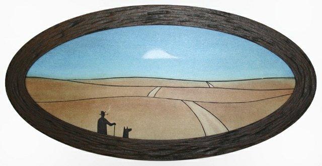 "Rick Gorenko, ""Old Highway Canon,"" 2018"