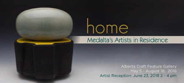 "Alberta Craft Gallery, ""home,"" 2018"