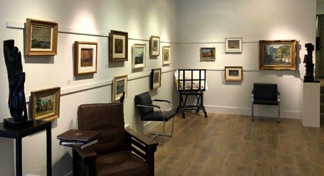 """Petley Jones Gallery, """"Open House,"""" 2018"""