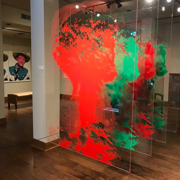 """Louis Bako, """"Atomic Explosion (Aminita Muscaria),"""" 1970,"""